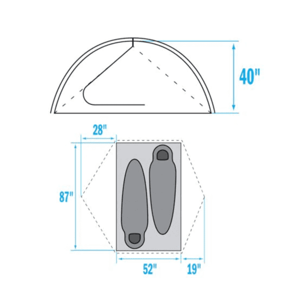 North_Face_Talus_2P_Tent_Rental_Denver