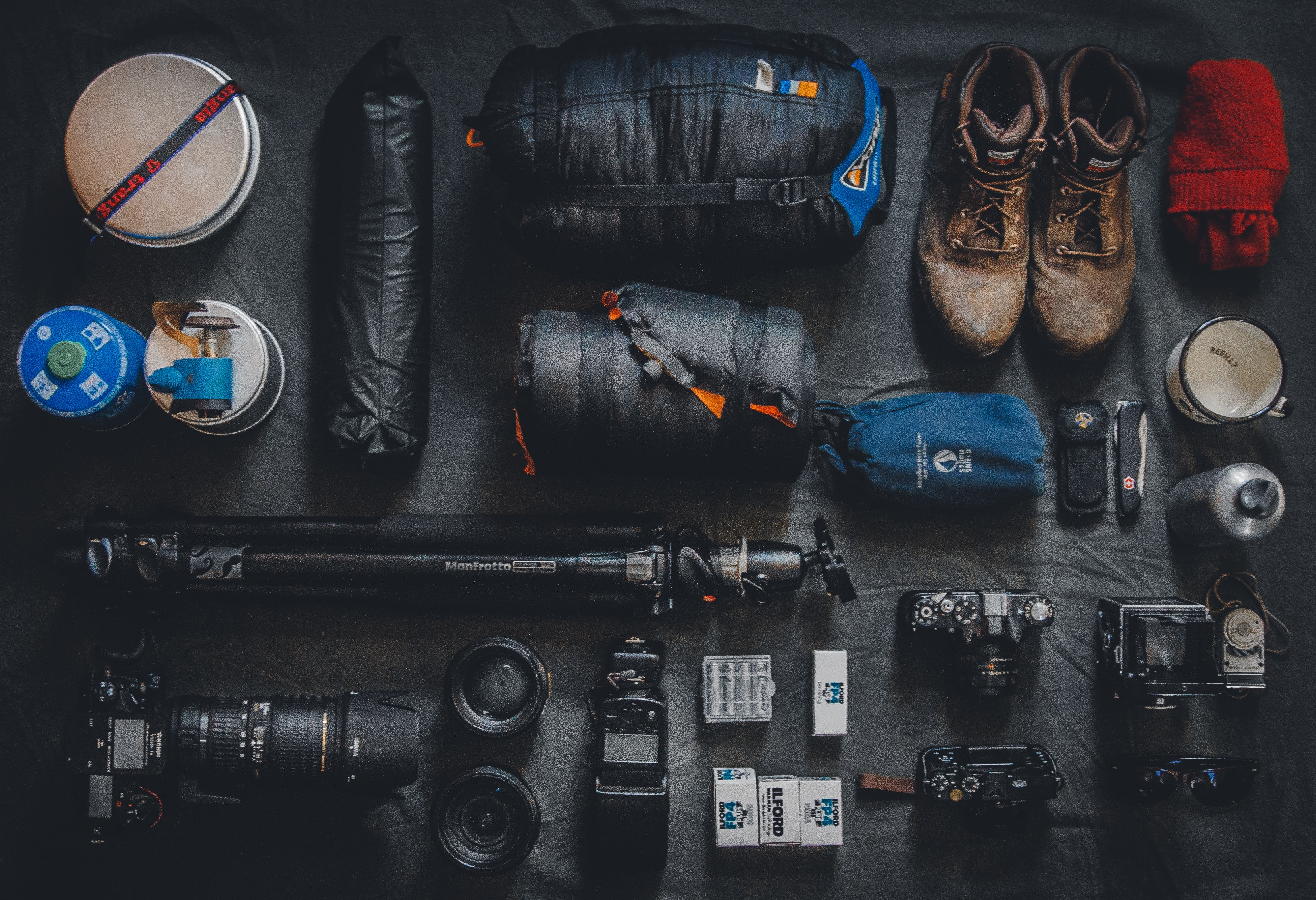 Gear you should need for a solo adventure