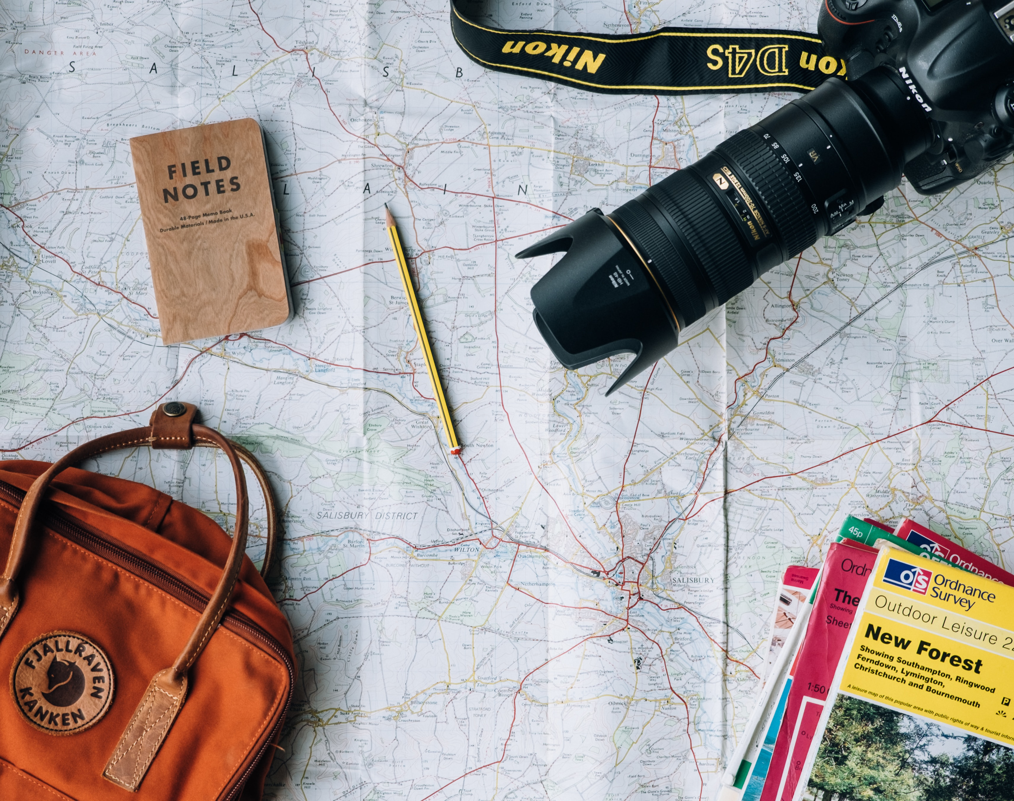Mapping out your solo trip