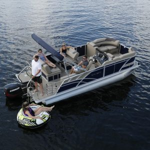 Fiesta Pontoon Boat| New Smyrna Beach Florida Rental