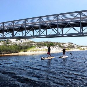 Camp Creek Lake Daytime SUP Tour| Watersound Florida